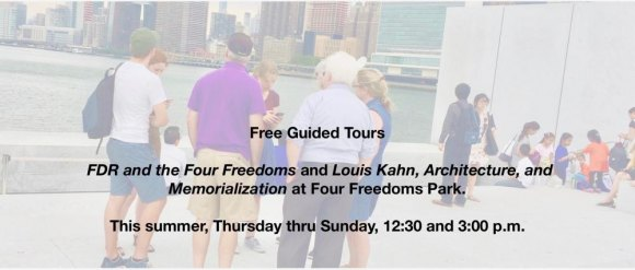 FDR Four Freedoms Park Conservancy To Honor William J. vanden Heuvel